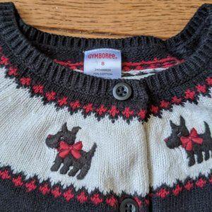 Gymboree Scottie Dog Sweater
